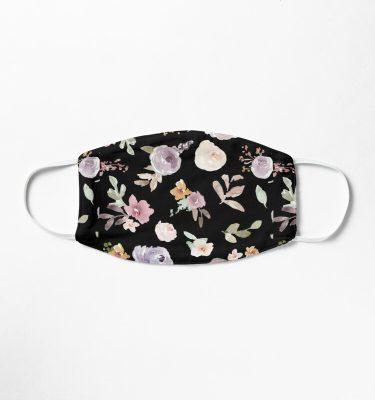 floral face masks