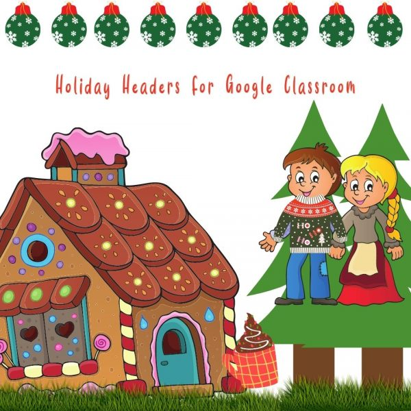 Holiday Google Classroom Banners